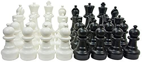 marcas de moda Uber Games Garden Chess Game Pieces Set - Plastic Plastic Plastic - Garden Talla - 12 Inch by Uber Games  mejor calidad