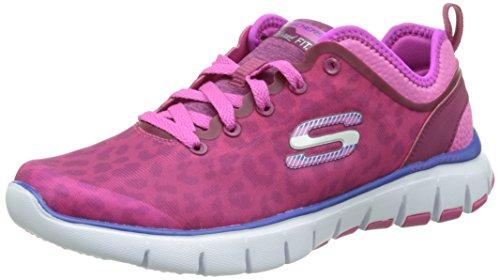 Skechers Skechers Damen Skech-FlexPower Player Sneakers, Pink (HPK), 36