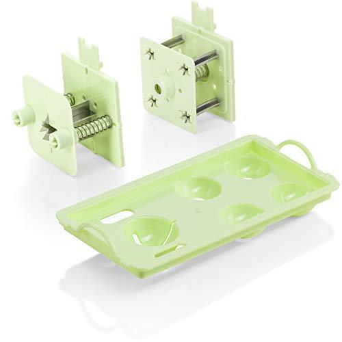 Genius Nicer Dicer Magic Cube Grün Manueller Lebensmittelzerkleinerer