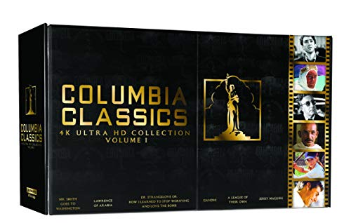 Dr. Strangelove Or: How I Learned to Stop Worrying and Love the Bomb / Gandhi / Hail Columbia / Jerry Maguire / Lawrence of Arabia (Restored Version) / League of Their Own, a (1992) / Mr. Smith Goes to Washington - Set [Blu-ray] (Bilingual)