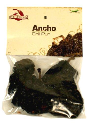 Pfefferhaus Chili Pur 'Ancho', ganz