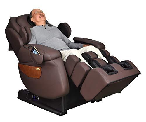 Luraco iRobotics 7 PLUS Medical Massage Chair (Chocolate Brown)