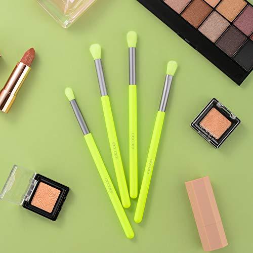 4pcs Eyebrow Brush , Docolor Professional Makeup Brush for Eye Brow and Eyeshadow Makeup Tool