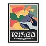 Pknbfw Wilco Gig Poster Klassische Wandkunst Vintage Bunte
