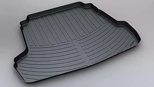 Coche Alfombrillas para maletero para Hyundai SONATA 2011-2016, Impermeable Antislip Antisuciedad Alfombra Protectora Liner Mat