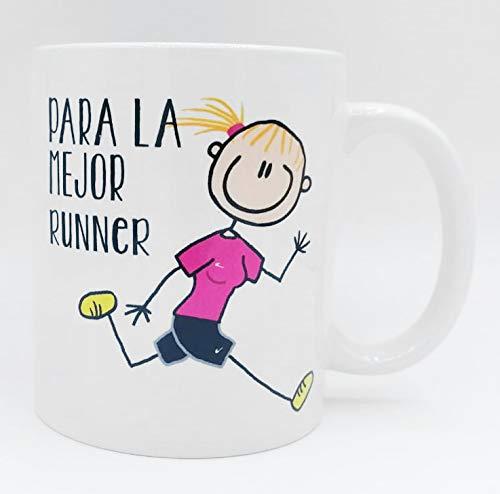 Taza ''Para la mejor runner'