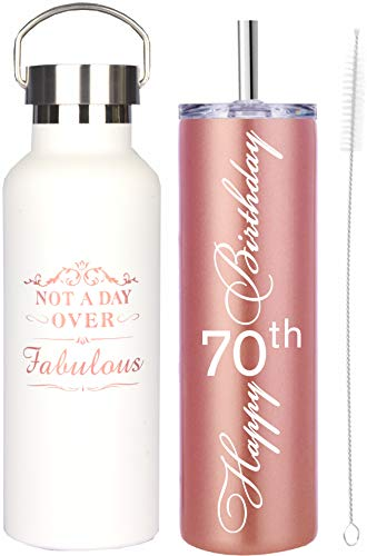 70th Birthday Gifts for Women, 70th Birthday Gifts, 70th Birthday Decorations for women, Happy 70th Birthday Tumbler, 70th Birthday Gift Ideas, Gift for 70th Years Old Women
