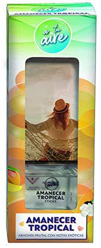 A tu aire   Ambientador en Sticks  Varitas Ambientadoras  Fragancia Amanecer Tropical ...