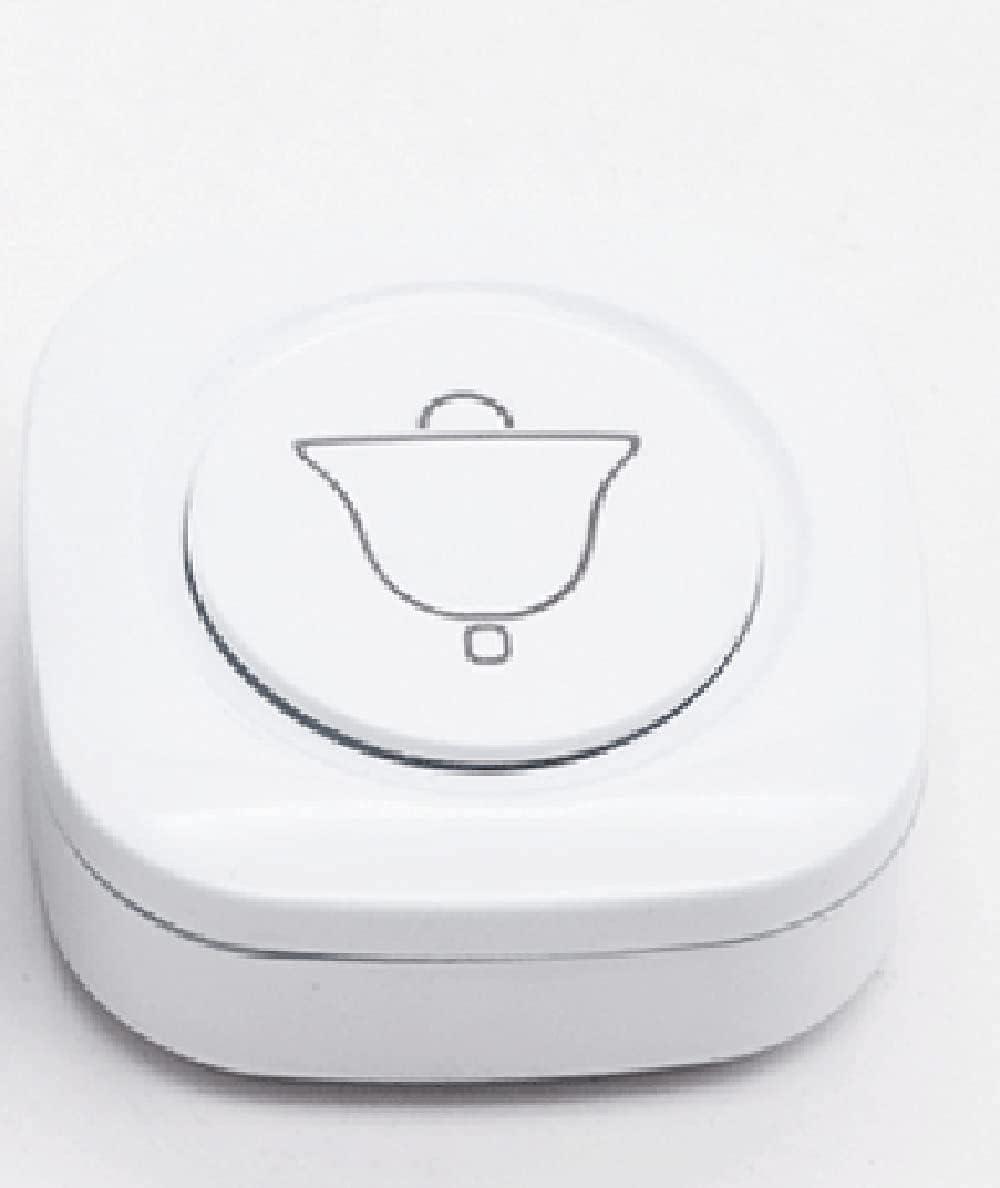 Timbre inalámbrico Wireless Smart Doorbell, potencia de penetración fuerte, control remoto de 200 metros de 200 metros, señal inalámbrica estable, ligera y compacta, simple y elegante, adecuada para e