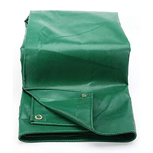 Telas para toldos LQ Paño a Prueba de Lluvia Paño Impermeable Paño para toldo Toldo Lona Gruesa Lona Verde Paño de sombrilla Exterior de protección Solar con Filtro (Size : 3 * 4m)