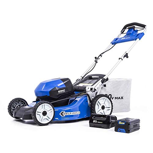 kobalt battery mower