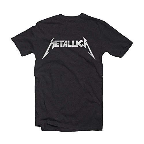 Amplified Shirt Metallica Logo, M, Grau