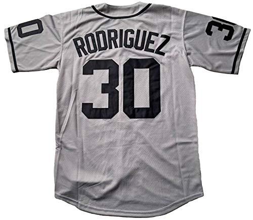 The Sandlot Benny 30 'The Jet' Rodriguez 5 Michael 'Squints' Palledorous 11 Alan Yeah-Yeah McClennan Baseball Jersey (30 Grey, X-Large)