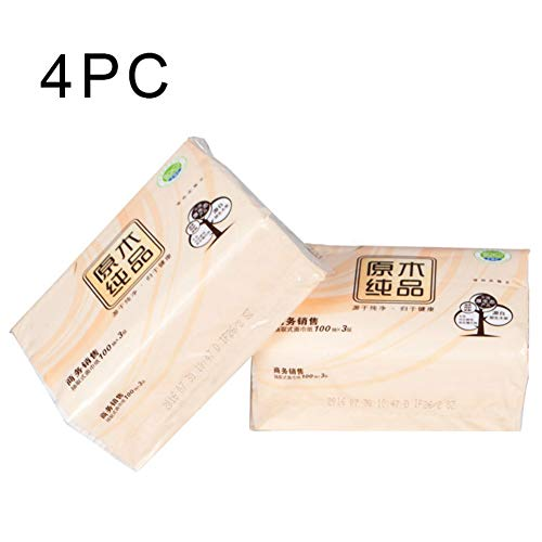 Find Discount Napkins Table Tissue Paper Disposable 3 Layers 4 Cube Box,100pcs/Per Box,Total 400PCS