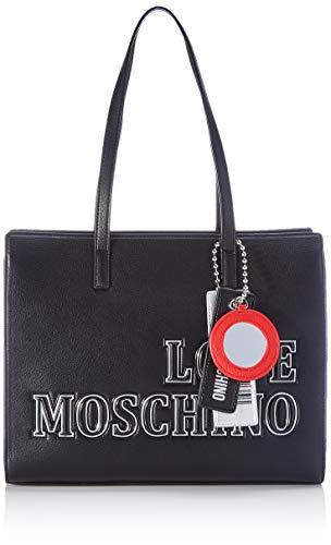 Love Moschino JC4239PP0BKG0, Sac l'paule Femme, Noir, Normale