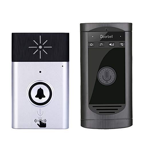 WiFi inalámbrico Timbre de la Puerta Timbre inalámbrico teléfono walkie-Talkie monitoreo Blateado