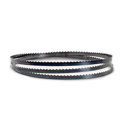 Flexback Bandsägeblatt Sägeband für Holz 1400 Holzbandsägeblatt (Breite 13 mm Stärke 0,5 Zahnteilung 6 mm)