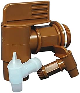 """2"""" Gold Drum Faucet with 2 3/16"""" OD Outlet"""