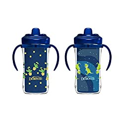 2. Dr. Brown's Milestones Hard Spout Insulated Sippy Cup (2-pack)