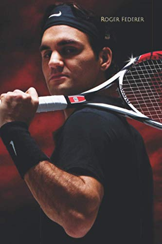 Roger Federer: Lined Notebook