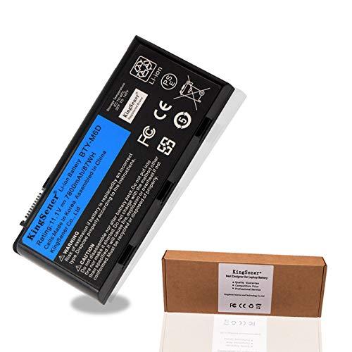 KingSener BTY-M6D Batería para portátil MSI GT60 GT70 GX780R GX680 GX780 GT780R GT660R GT663R GX660 GT680R GT783R 87WH