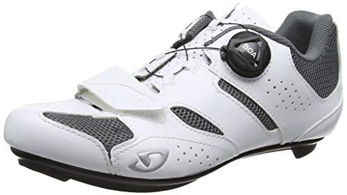 Giro Damen Savix Road Radsportschuhe-Rennrad, Mehrfarbig (White/Titanium 000), 39 EU