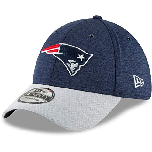 New Era Gorra 39 Thirty On Field 2018 Patriots Sideline Defended Azul - Azul - M/L