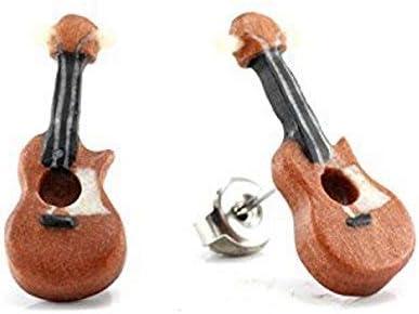 Acoustic WildKlass Guitar Makerpin Earring Studs
