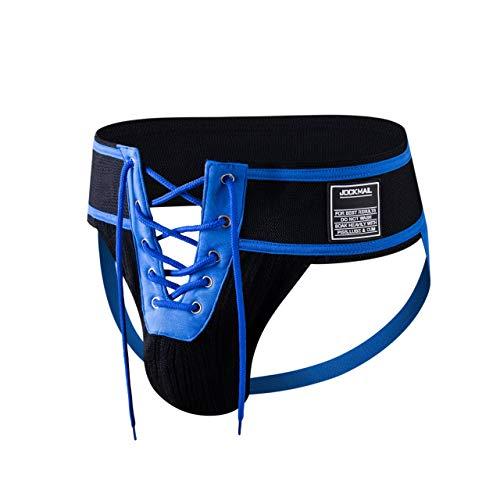 JOCKMAIL Lace Jockstrap 225 blau Größe XL