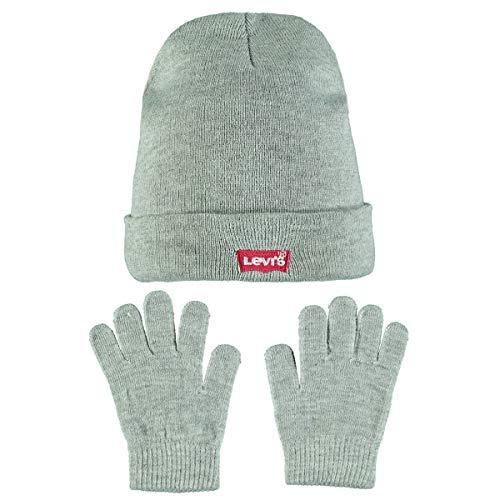 Levis Jungen Mütze Gr. 53 cm, grau