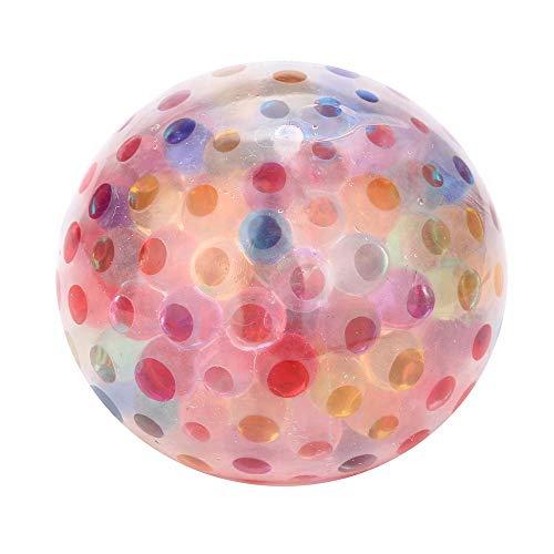 YWLINK Dekompression Spielzeug Bubble Ball Spongy Rainbow Ball Spielzeug Quetschbares Stress Spielzeug Entspannung Ball Fur Spaß