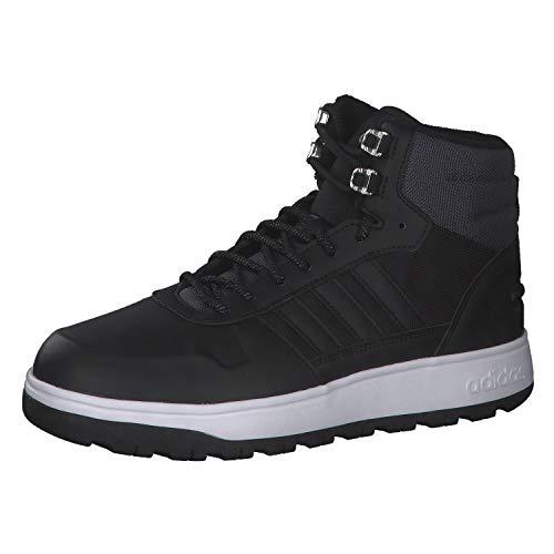 Adidas Frozetic Zapatillas Basketball Altas para Hombre FW6633 (Negro, 42)