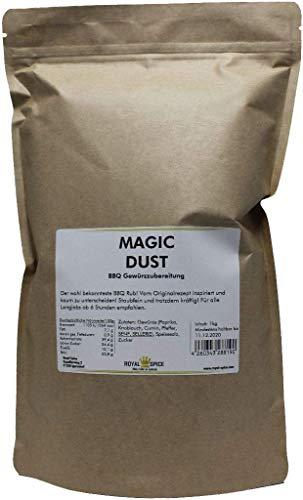 Royal Spice Magic Dust BBQ Rub Gewürzmischung - Erster In Deutschland Hergestellter Magic Dust Nach Dem Originalrezept Von Mike Mills - 1kg