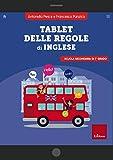 Tablet delle regole di inglese. Scuola secondaria di 1º grado