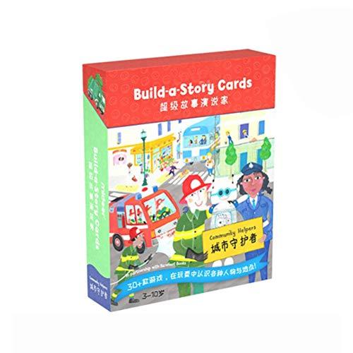 Edinber Story Cards - Juego de cartas de concentración lógica para niños