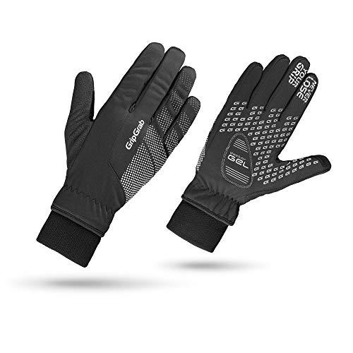 GripGrab Gants de Cyclisme d'hiver Unisexes, Noir, XL
