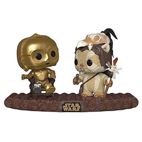 Funko POP! Vinyl: Star Wars: C-3PO on Throne, Mehrfarben, 37593