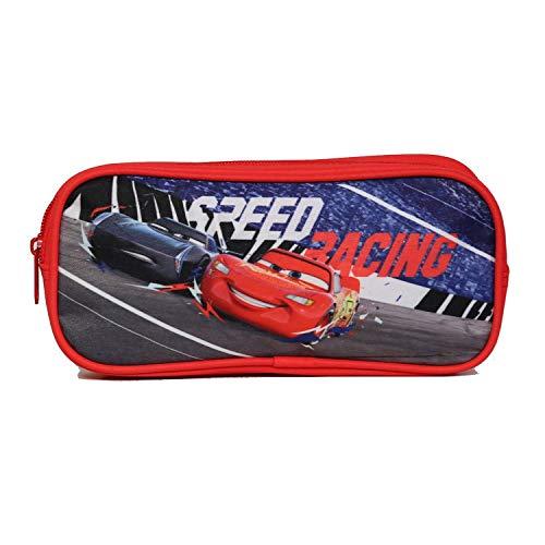 Astuccio scolastico rettangolare Disney Cars rosso Bagtrotter