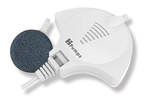 Hpumps Nano Aquarienluftpumpe weiß Manta 18l/h mit hochmoderner Piezotechnologie