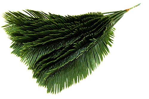 Depory 12 St.Palm wedel Kunstpalmen Künstliche Blätter Deko künstliche Floristik Strauß