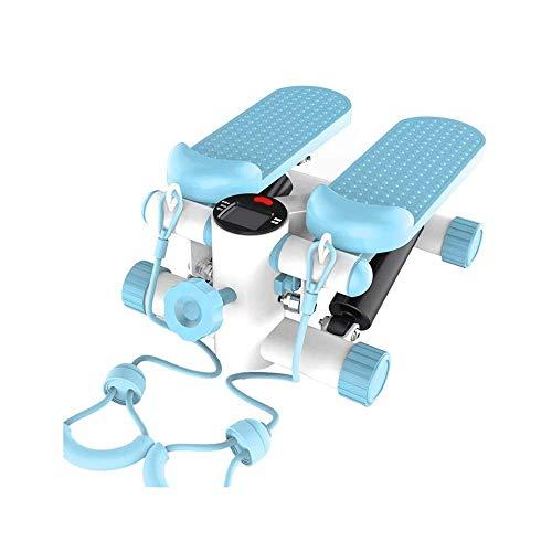 Pedales de escalera de interior para máquina de ejercicios, gimnasios domésticos portátiles para hombres y mujeres, máquinas de escalada en modo deportivo, pedales de ejercicio aeróbico, con pantalla