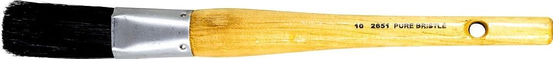 PFERD 89679 Oval Sash Brush, Black Bristle Filament, 1-1/4