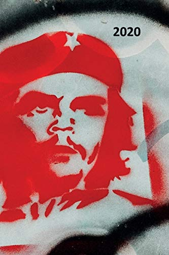 2020: Cuban icons Charming Planner Calendar Organizer Daily Weekly Monthly Student for researching Che Guevara