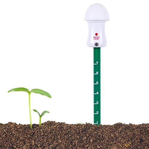 Katyma Medidor de humedad de suelo para plantas, verde, medidor de humedad de plantas, medidor de humedad para suelo de plantas, jardín, granja