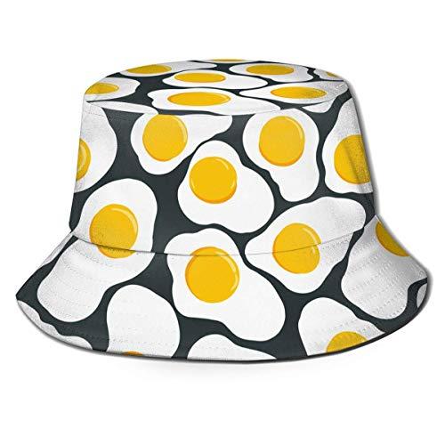 NA Sombreros de Pesca, Sombrero de Pescador de Huevos fritos, Gorra de Pescador Multifuncional con Estilo Hermosa importada para Forro de Casco