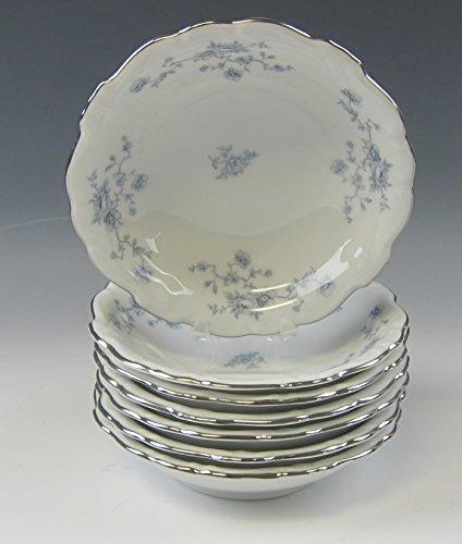 Lot of 7 Johann Haviland BLUE GARLAND Fruit and Dessert Bowls EXCELLENT