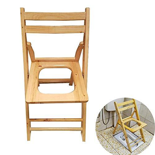 folding chairs lzpq Klappbarer Toilettensitz mit Kommode aus Holz , für Yoni-Dämpfe