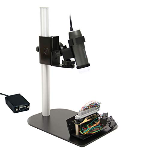 Dino-Lite VGA Digital Microscope AM5216ZTL and MS35B Stand - 720p, 5X - 140x Optical Magnification, Polarized Light, Long Working Distance