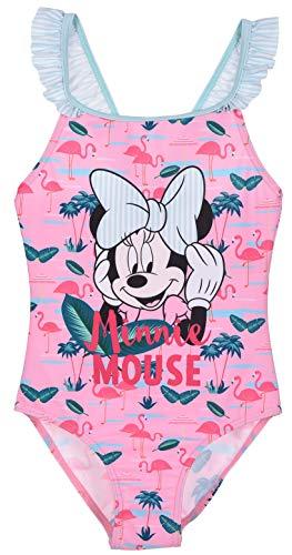 Minnie Mouse Mädchen Badeanzug, Rosa, 6 Jahre
