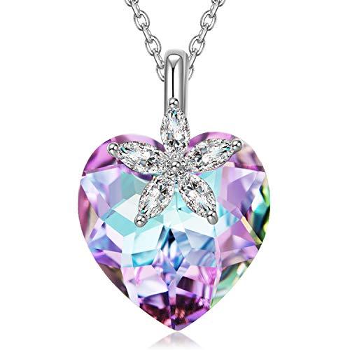 Alex Perry Regalo collana donna argento punto luce collana idee per regali originali cuore regalo regalo mamma fidanzata maestra regali divertenti gioielli donna offerta